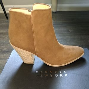 Barney's New York Wedge Ankle Boot Size 7.5